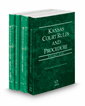 Kansas Court Rules and Procedure - State, Federal, Federal KeyRules, and Local, 2021 ed. (Vols. I-III, Kansas Court Rules)