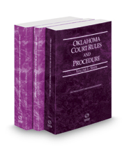 Oklahoma Court Rules and Procedure - State, Federal and Federal KeyRules, 2017 ed. (Vols. I-IIA, Oklahoma Court Rules)