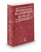 Pennsylvania Rules of Court - Federal KeyRules, 2019 revised ed. (Vol. IIA, Pennsylvania Court Rules)