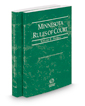 Minnesota Rules of Court - Federal and Federal KeyRules, 2017 ed. (Vols. II & IIA, Minnesota Court Rules)