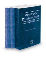 Minnesota Rules of Court - State, Federal and Federal KeyRules, 2018 ed. (Vols. I-IIA, Minnesota Court Rules)