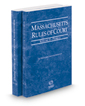Massachusetts Rules of Court - Federal and Federal KeyRules, 2017 ed. (Vols. II & IIA, Massachusetts Court Rules)
