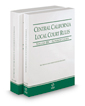 Central California Local Court Rules - Superior Courts and KeyRules, 2019 revised ed. (Vols. IIIC & IIID, California Court Rules)