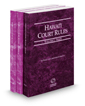 Hawaii Court Rules - State, Federal and Federal KeyRules, 2017 ed. (Vols. I-IIA, Hawaii Court Rules)