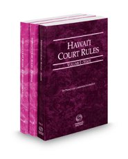 Hawaii Court Rules - State, Federal and Federal KeyRules, 2021 ed. (Vols. I-IIA, Hawaii Court Rules)