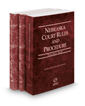 Nebraska Court Rules and Procedure - State, Federal and Federal KeyRules, 2019 ed. (Vols. I-IIA, Nebraska Court  Rules)