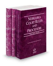 Nebraska Court Rules and Procedure - State, Federal and Federal KeyRules, 2021 ed. (Vols. I-IIA, Nebraska Court  Rules)