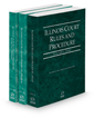 Illinois Court Rules and Procedure - State, Federal and Federal KeyRules, 2021 ed. (Vols. I-IIA, Illinois Court Rules)