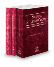 Nevada Rules of Court - State, Federal and Federal KeyRules, 2021 ed. (Vols. I-IIA, Nevada Court Rules)