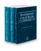Washington Court Rules - State, Federal and Federal KeyRules, 2019 ed. (Vols. I-IIA, Washington Court Rules)