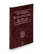 New Jersey Rules of Court - State KeyRules, 2022 ed. (Vol. IA, New Jersey Court Rules)