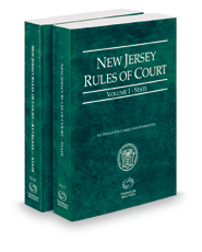 New Jersey Rules of Court - State and State KeyRules, 2019 ed. (Vols. I-IA, New Jersey Court Rules)