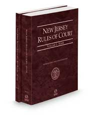 New Jersey Rules of Court - State and State KeyRules, 2022 ed. (Vols. I-IA, New Jersey Court Rules)