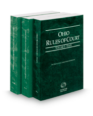 Ohio Rules of Court - State, Federal and Federal KeyRules, 2019 ed. (Vols. I-IIB, Ohio Court Rules)