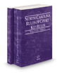North Carolina Rules of Court - Federal and Federal KeyRules, 2019 ed. (Vols. II & IIA, North Carolina Court Rules)