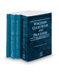 Wisconsin Court Rules and Procedure - State, Federal, Federal KeyRules, and Local, 2019 ed. (Vols. I-III, Wisconsin Court Rules)