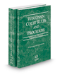 Wisconsin Court Rules and Procedure - Federal and Federal KeyRules, 2018 ed. (Vols. II & IIA, Wisconsin Court Rules)