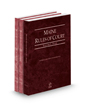 Maine Rules of Court - State, Federal and Federal KeyRules, 2021 ed. (Vols. I-IIA, Maine Court Rules)
