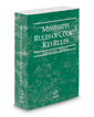 Mississippi Rules of Court - Federal KeyRules, 2019 ed. (Vol. IIA, Mississippi Court Rules)