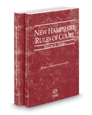 New Hampshire Rules of Court - Federal and Federal KeyRules, 2018 ed. (Vols. II & IIA, New Hampshire Court Rules)