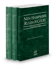 New Hampshire Rules of Court - State, Federal and Federal KeyRules, 2017 ed. (Vols. I-IIA, New Hampshire Court Rules)