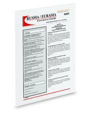 Russia/Eurasia Executive Guide (REEG)