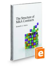 The Structure Of M & A Contracts