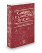 California Rules of Court - Federal KeyRules, 2020 ed. (Vol. IIB, California Court Rules)
