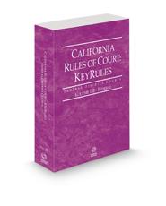 California Rules of Court - Federal KeyRules, 2021 ed. (Vol. IIB, California Court Rules)