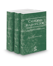 California Rules of Court - Federal District Courts, Federal Bankruptcy Courts and Federal KeyRules, 2017 revised ed. (Vols. II-IIB, California Court Rules)