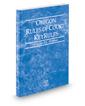 Oregon Rules of Court - Federal KeyRules, 2017 ed. (Vol. IIA, Oregon Court Rules)