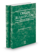 Oregon Rules of Court - Federal and Federal KeyRules, 2018 ed. (Vols. II & IIA, Oregon Court Rules)