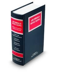 Archbold Hong Kong Criminal Law Pleading Evidence and Practice 2011