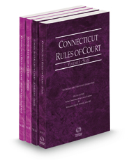 Connecticut Rules of Court - State, State KeyRules, Federal and Federal KeyRules, 2021 ed. (Vols. I-IIA, Connecticut Court Rules)