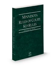 Minnesota Rules of Court - State KeyRules, 2021 ed. (Vol. IA, Minnesota Court Rules)