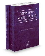 Minnesota Rules of Court - State and State KeyRules, 2016 ed. (Vols. I-IA, Minnesota Court Rules)