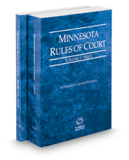 Minnesota Rules of Court - State and State KeyRules, 2018 ed. (Vols. I-IA, Minnesota Court Rules)