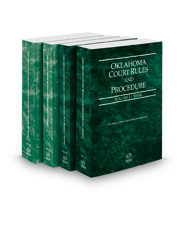 Oklahoma Court Rules and Procedure - State, State KeyRules, Federal and Federal KeyRules, 2018 (Vols. I-IIA, Oklahoma Court Rules)