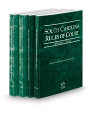 South Carolina Rules of Court - State, State KeyRules, Federal and Federal KeyRules, 2018 ed. (Vols. I-IIA, South Carolina Court Rules)