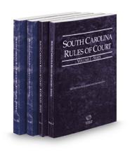 South Carolina Rules of Court - State, State KeyRules, Federal and Federal KeyRules, 2021 ed. (Vols. I-IIA, South Carolina Court Rules)