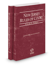 New Jersey Rules of Court - Federal and Federal KeyRules, 2018 ed. (Vol. II-IIA, New Jersey Court Rules)