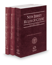 New Jersey Rules Of Court - State, Federal and Federal KeyRules, 2018 ed. (Vols. I-IIA, New Jersey Court Rules)
