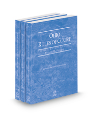Ohio Rules of Court - Federal District, Federal Bankruptcy and Federal KeyRules, 2022 ed. (Vols. II-IIB, Ohio Court Rules)