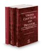 Virginia Court Rules and Procedures - State, State KeyRules and Local, 2019 ed. (Vols I-IA & III, Virginia Court Rules)