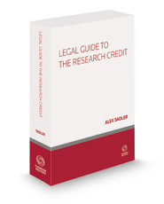 Legal Guide to the Research Credit, 2021 ed.