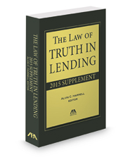 Law of Truth in Lending Supplement 2015