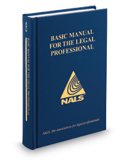 NALS Basic Manual for the Lawyer's Assistant, 14th