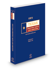 Cox's Texas Creditors' Rights Laws Annotated, 2021 ed. (Texas Annotated Code Series)