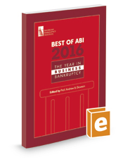 Best of ABI 2016: The Year in Business Bankruptcy