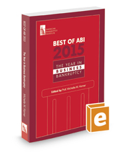 Best of ABI 2015: The Year in Business Bankruptcy